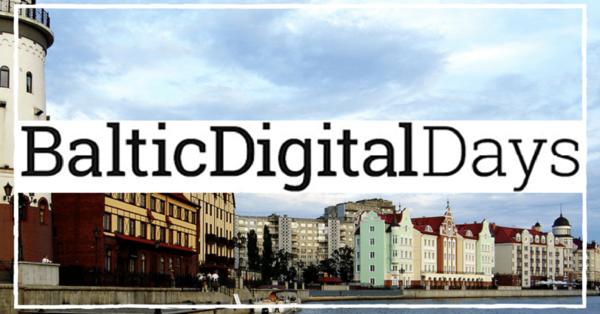BALTIC DIGITAL DAYS2021
