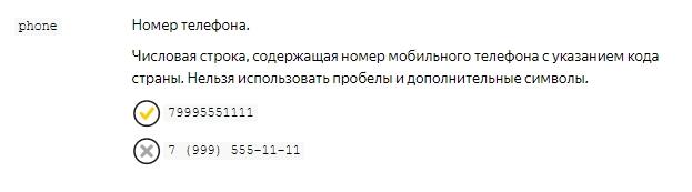 Требования к написанию номеров