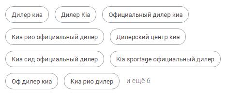 Ключевые фразы