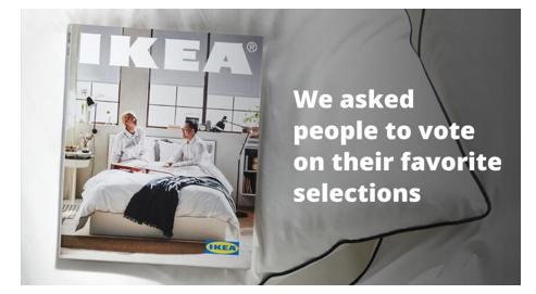 Пример рекламы от IKEA