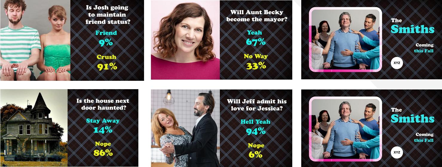 Реклама на основе опроса